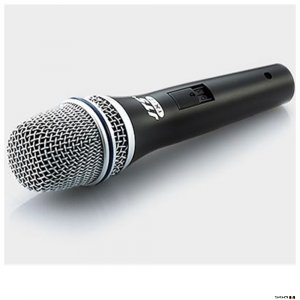 JTS JP-TX7 Slim dynamic mic with switch, for instrument or vocals, includes XLR cable. Delivers superb performance at a modest cost.