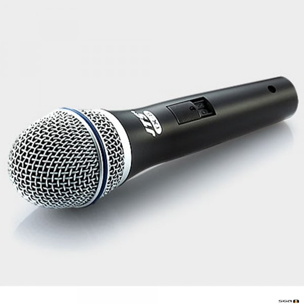 JTS JP-TX8 Dynamic vocal mic with switch, for vocals, with XLR cable.