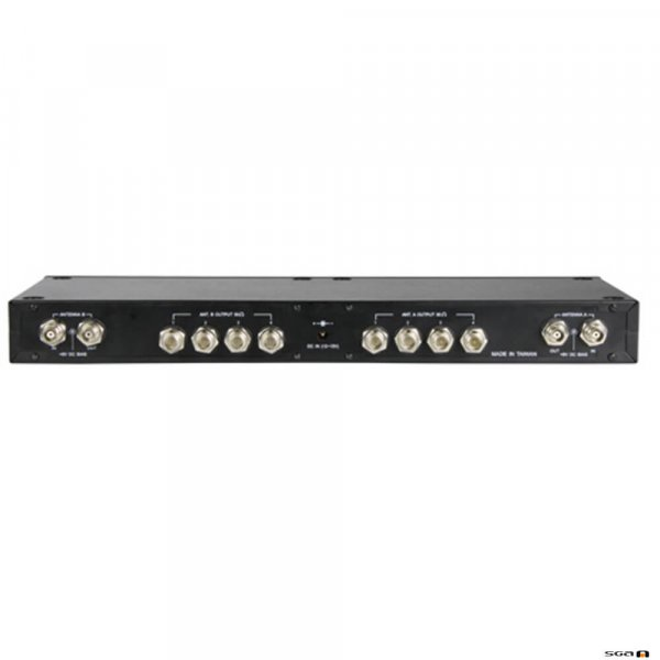 MiPro AD708 UHF 4-Channel Auto Gain-Control Antenna Divider. rear