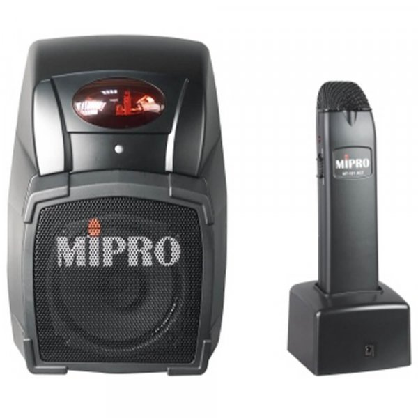 MiPro MA101ACT Wall Mount PA System and mic