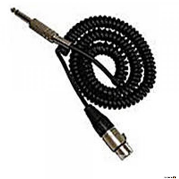 MiPro MCC101PA Mipro Curly Cord replacement to suit Mipro MA101PA Portable PA.