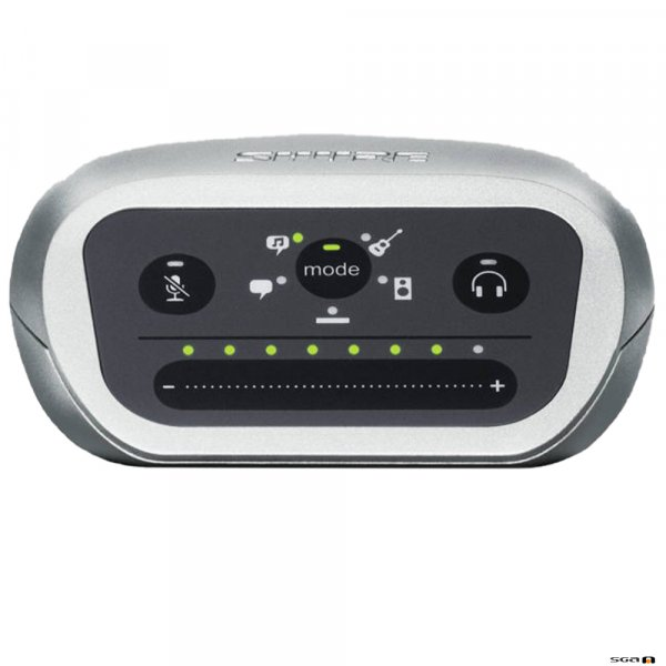 Shure MOTIV Mvi Professional Digital Audio Interface output to a computer or mobile device