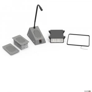 Contacta STS-K003L-G Flush Mounted Kit - Grey,