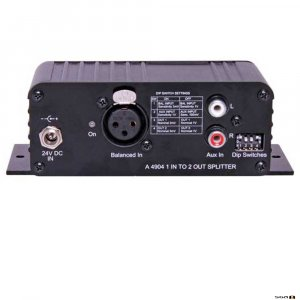 Redback A4904 Audio Splitter with 1 In to 2 Out.