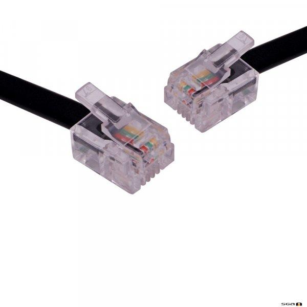 P7064 LIU Lead - RJ14 Plug to RJ14