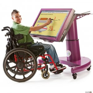 Tap It interactive learning station for children with disabilities or education needs