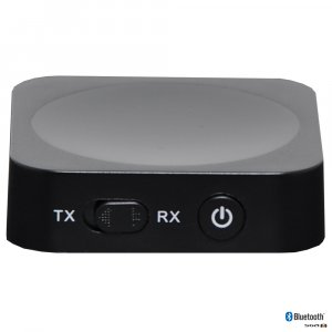 Wireless W2I1BT Bluetooth Audio Transmitter or Receiver with built-in lithium battery providing up to 8 hours play time