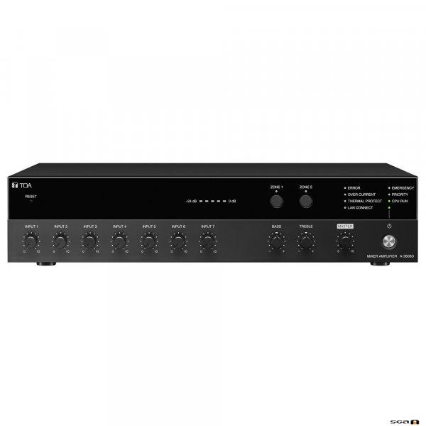 TOA A3606D Mixer Amplifier Front