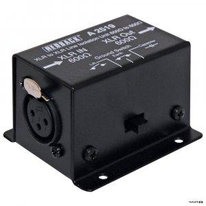 Redback A2519 Line Isolation Transformer 600 ohms to 600 ohms XLR