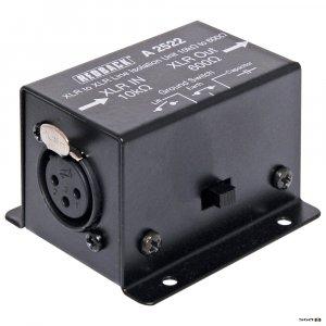 Redback A2522 Line Isolation Transformer 10k ohms to 600 ohms XLR