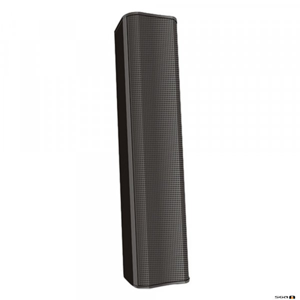 QSC AD-S802T 8 Element column speaker 70/100V/8Ω 160° x 20° coverage (Inc. pan/tilt bracket). Black or White.