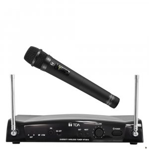 TOA WS5225 16 Channel Diversity Wireless Microphone Receiver pack w WT5810 Receiver, electret condenser microphone WM5225. Available in 636-666MHz or 578-606MHz.