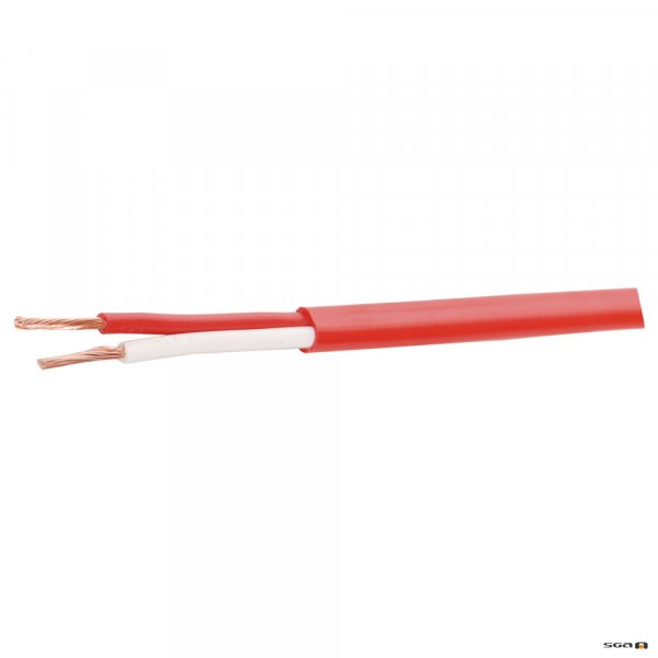 w2188-500m 7/0.5 Double Insulated Speaker Cable. Available in Red or White