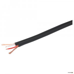 W 2995 100m. Heavy Duty Figure 8 Shielded Cable for professional, domestic sound applications