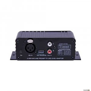 Redback A4905 Mic/Line Pre-Amplifier to Line Level Out Converter