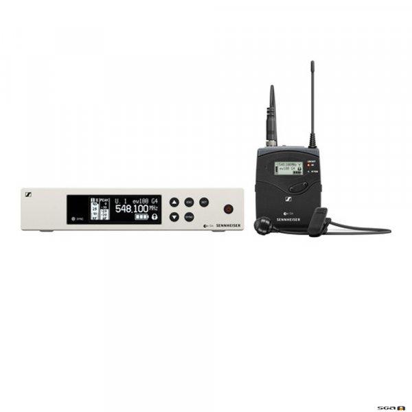 Sennheiser EW100 G4-ME4 w/robust bodypack transmitter and ME 4 (cardioid) clip on mic