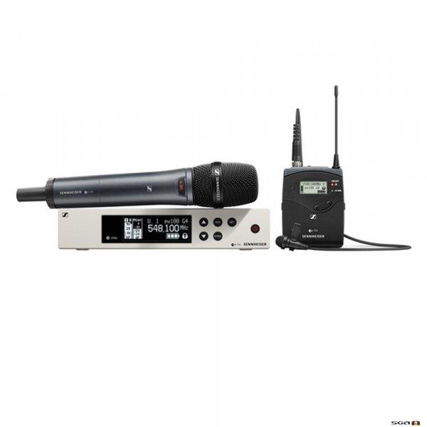 Sennheiser EW100 G4-ME2/835 versatile wireless system for those who sing, speak or play instruments