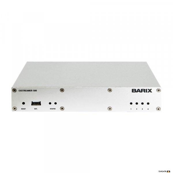 Barix Exstreamer 500 encoder/decoder -XLR audio cable included.