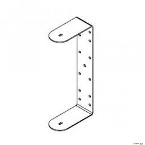 One Systems 108HTHUM 316 grade (marine) stainless steel U-bracket for use with 108HSB, 108HTH and 208HTC