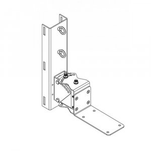 One Systems PM3M 316 grade (marine) stainless steel pan/tilt pole mount bracket for use with 108HSB, 108HTC, 108HTH, 208HTC and 108STC.