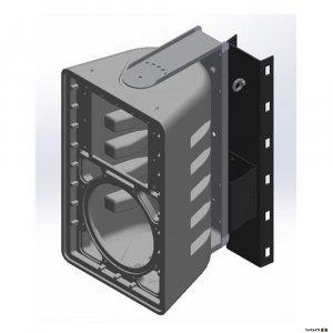 One Systems SLPMT Powder coated Pole Mount w/ Tilt for SL models