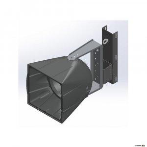 One Systems SPPMT Powder coated Pole Mount w/ Tilt for SL models