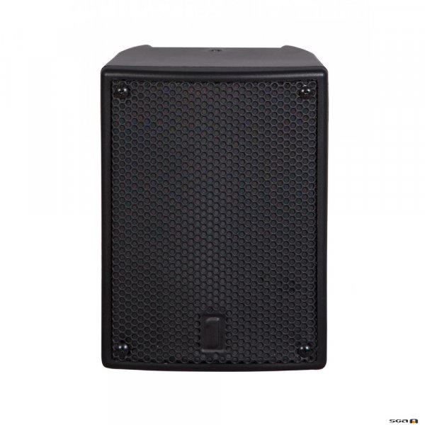 """One Systems 104HTH 4.5"""" two-way direct weather speaker system with a high-output tweeter. 50W continuous power handling. 110x80 HF coverage. U-Bracket included. Black or White."""